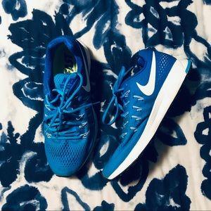 Gently worn Nike running sneakers